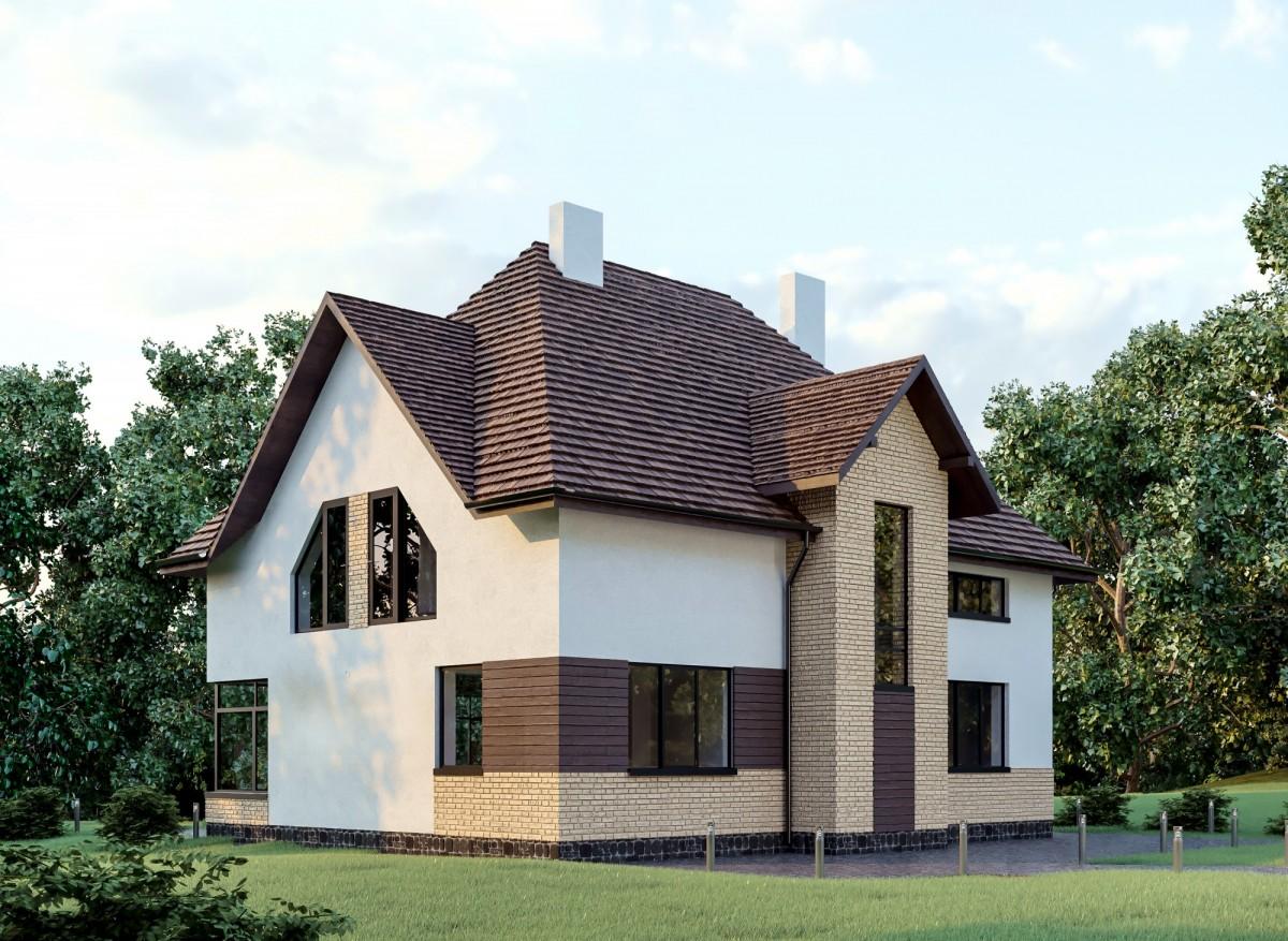 Дом из газоблока Рысь