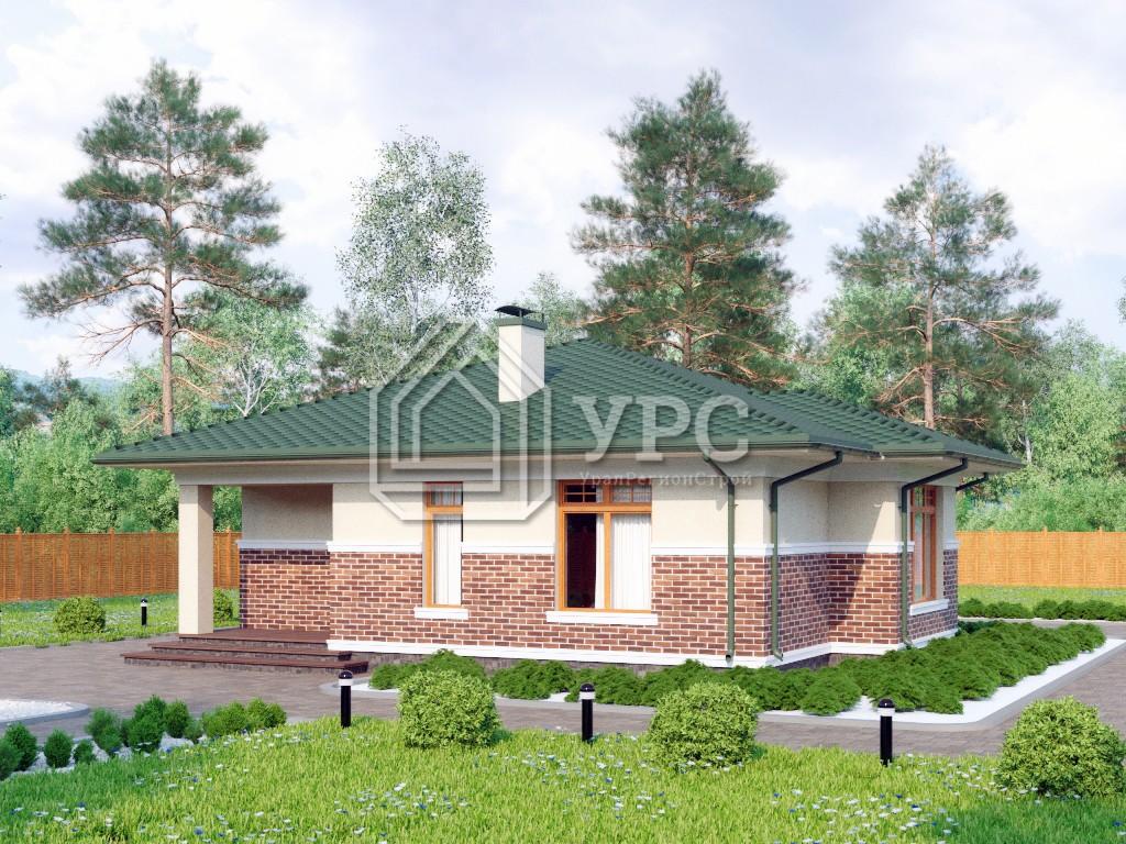 Дом из керамзитобетона К-250