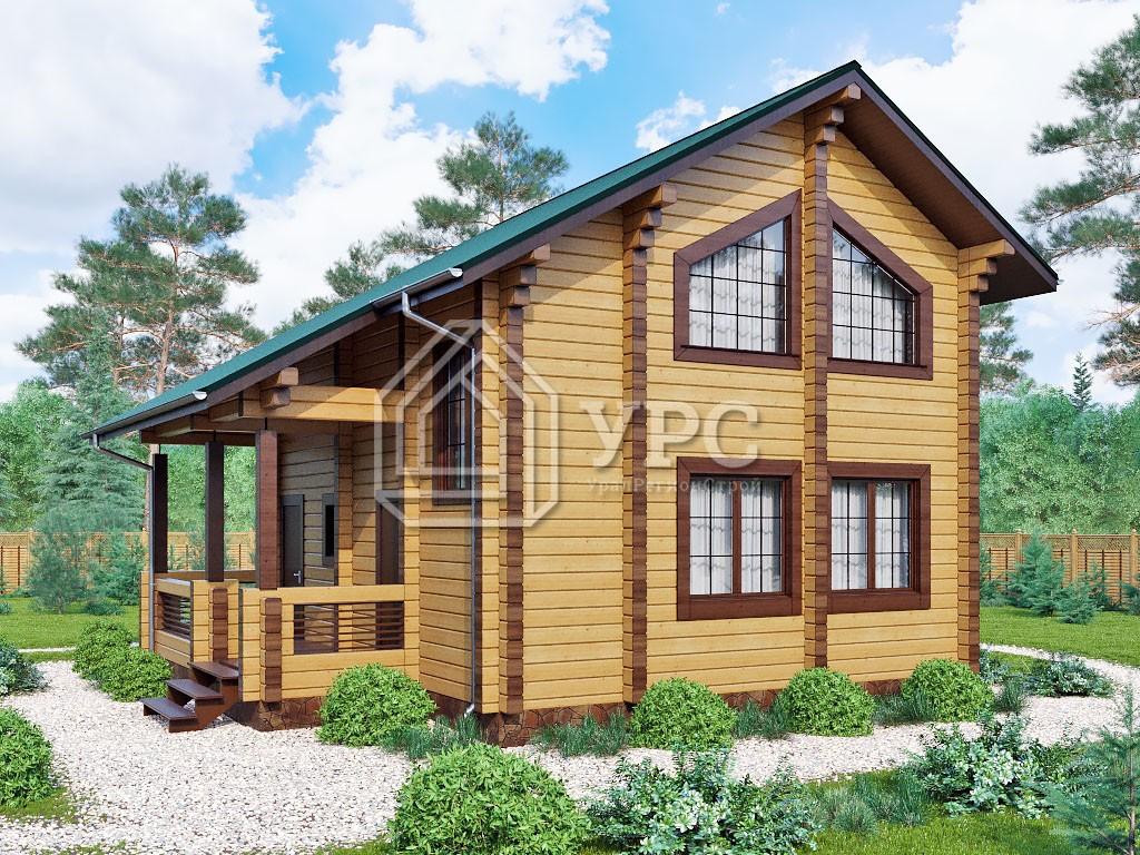 Дом из профилированного бруса ДС-001
