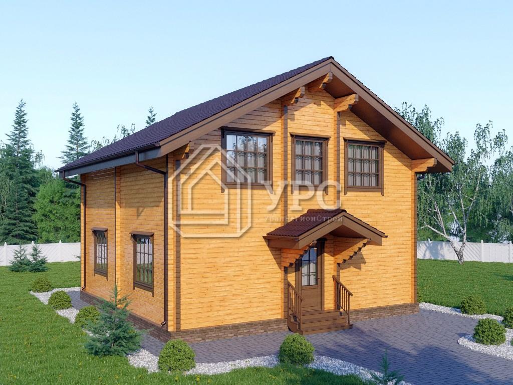 Дом из профилированного бруса ДС-103