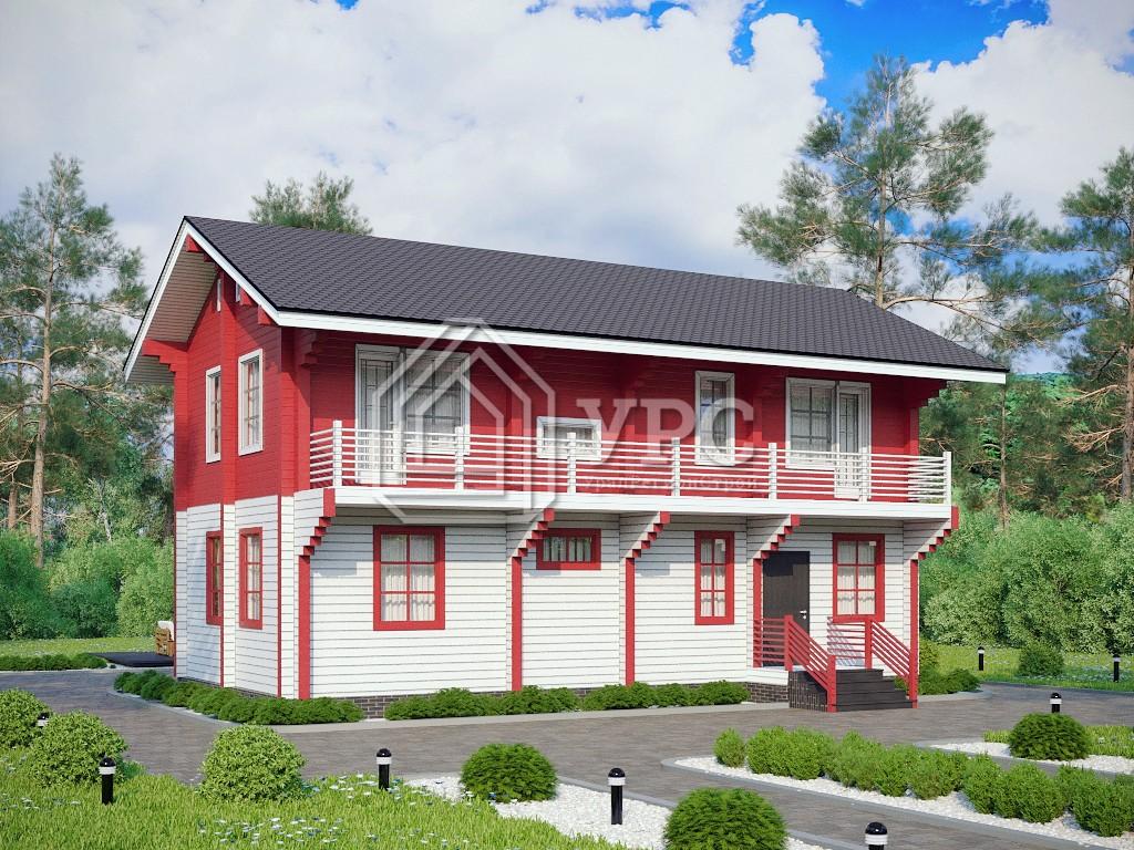 Дом из профилированного бруса ДС-115