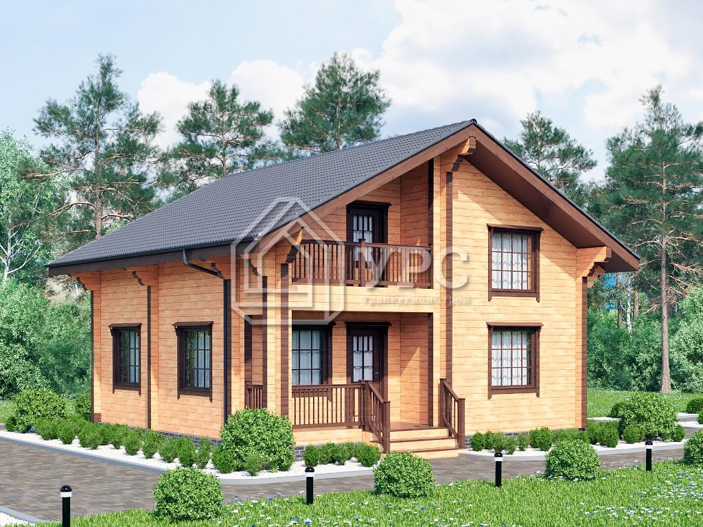 Дом из профилированного бруса ДС-137