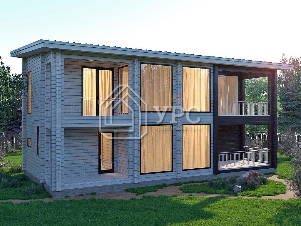 Дом из профилированного бруса ДС-031