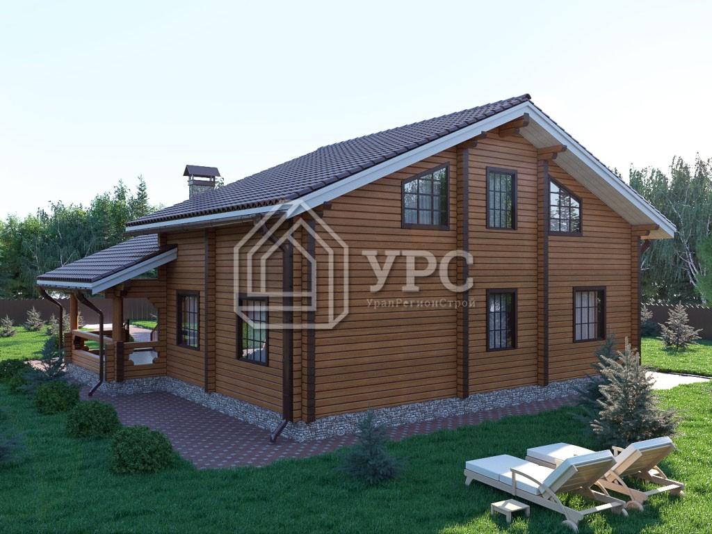 Дом из профилированного бруса ДС-012