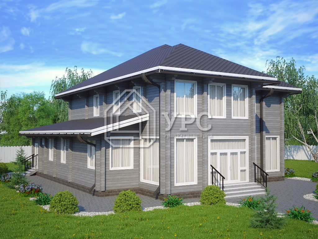 Дом из профилированного бруса ДС-088
