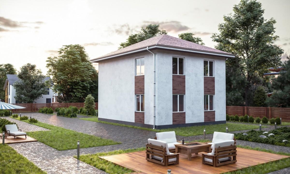 Дом из газоблока Уютный